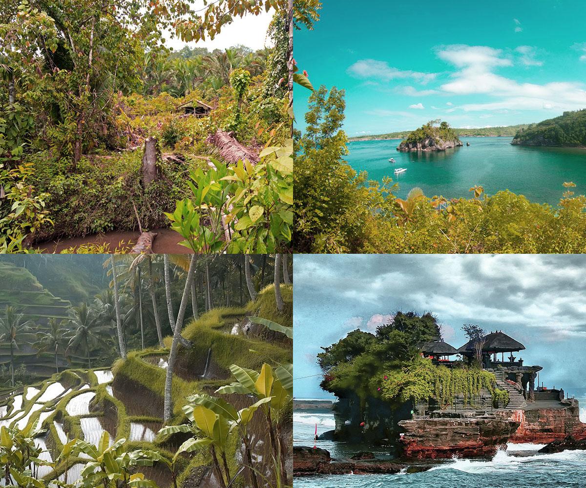 Райский отдых в Индонезии