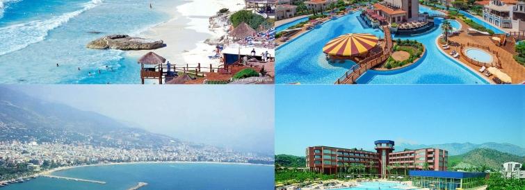 Поширені курортні міста Туреччини