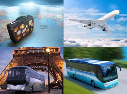 Екскурсійні тури (авіа та автобусні)