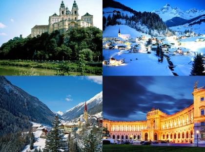 замки Австрии, тур по замкам