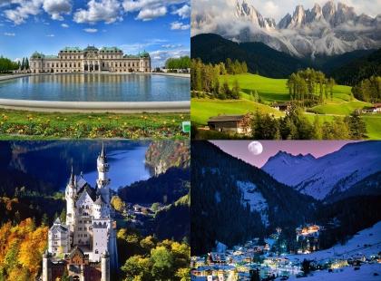 Австрия достопримечательности, туры