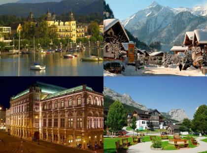австрийская архитектура, путешествия по Австрии