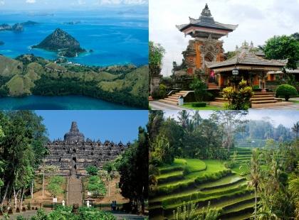 природа и храмы Индонезии