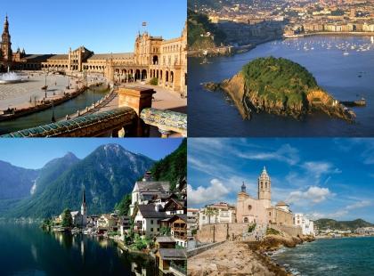 туры по архитектурным местам в Испании