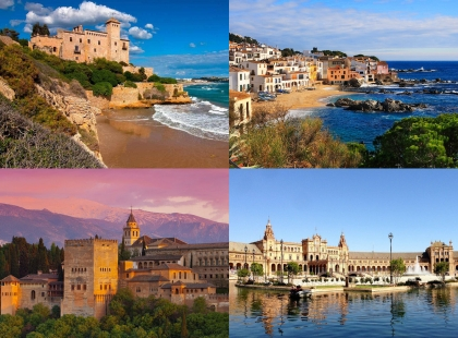 берега Испании
