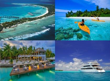 побережье Мальдивских островов