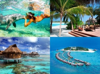 сказочные места на Мальдивах