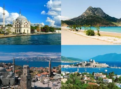 архитектура Турции, туры в Турцию