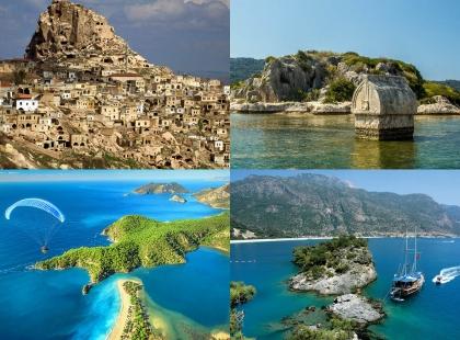 города и природа Турции