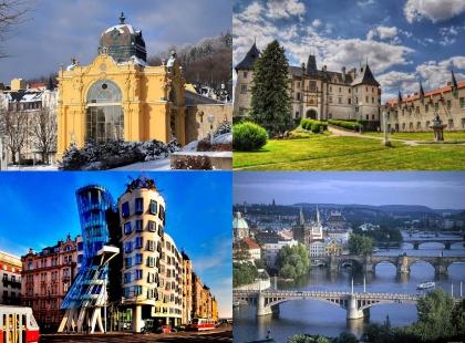 величие архитектуры Чехии