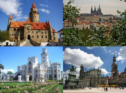 старинные замки Чехии
