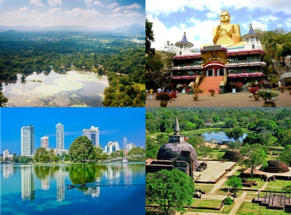 храмы в Шри-ланке