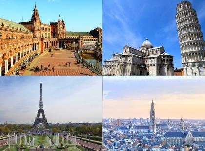 авиа туры в Европу