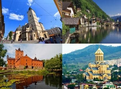 тур выходного для по Украине