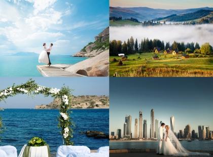 свадебный тур в незабываемые места