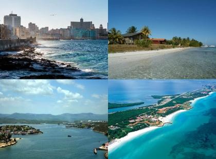 берега омывающие Кубу