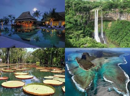 прекрасные места на Маврикий