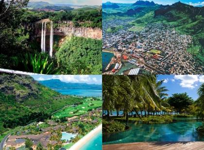 незабываемые пейзажи Маврикий