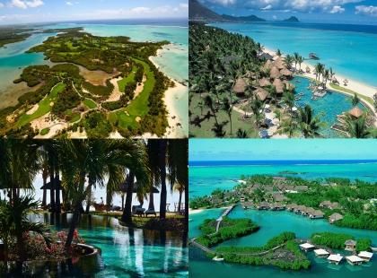 пляжи Маврикий