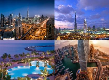 ошеломляющая архитектура Объединённых Арабских Эмиратов