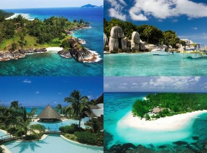 берега Сейшельских Островов