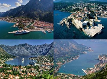 побережье Черногория