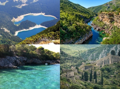 реки и озера Черногория
