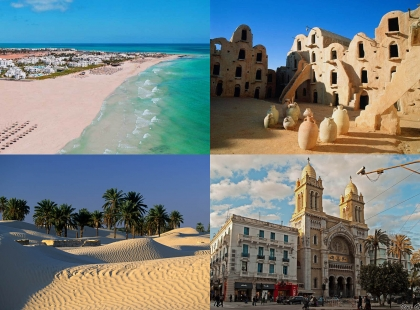 архитектура Туниса, туры в Тунис