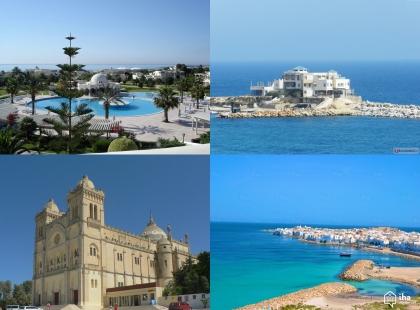 жилые здания Туниса