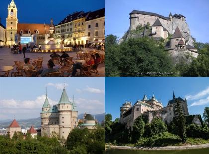 экскурсии в замки Словакии