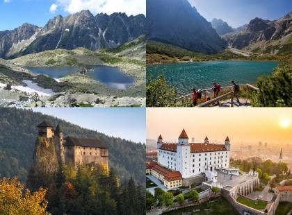 Словакия горы