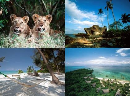 экзотическая природа Танзании