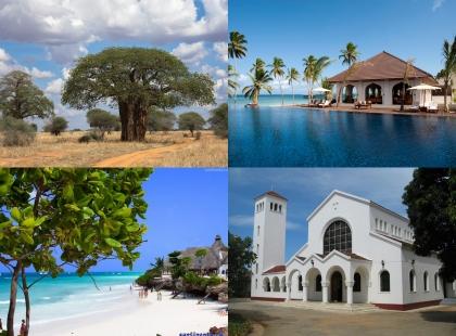 райские места Танзании