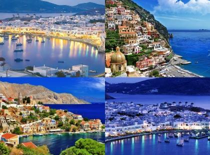 снимки в Греции
