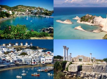 впечатляющие места в Греции