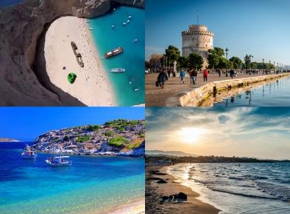 морские берега Греции