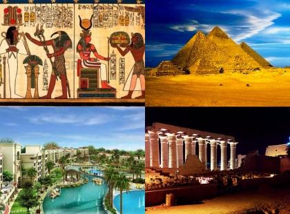 каменные строения в Египте