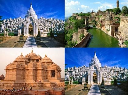 Индийские архитектурные храмы